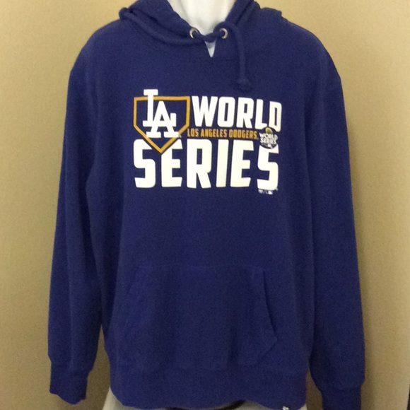 hot sale online 6f644 0ed1e '47 Los Angeles Dodgers 2017 World Series Hoodie